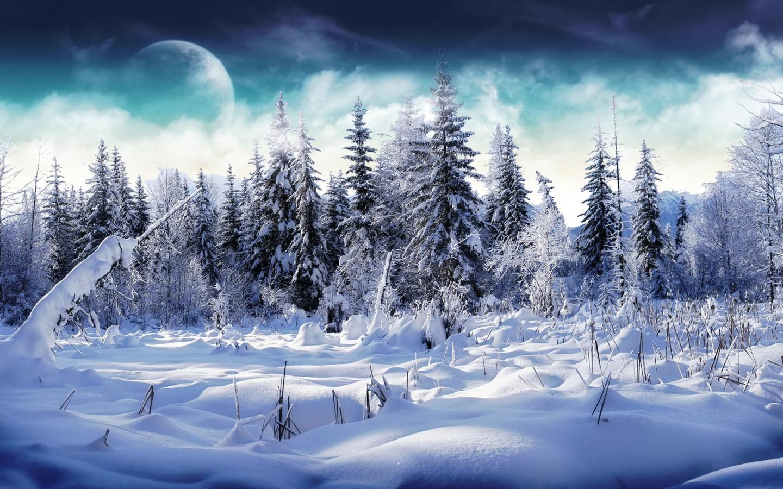 Картинки для рабочего стола 1440x900 зимой