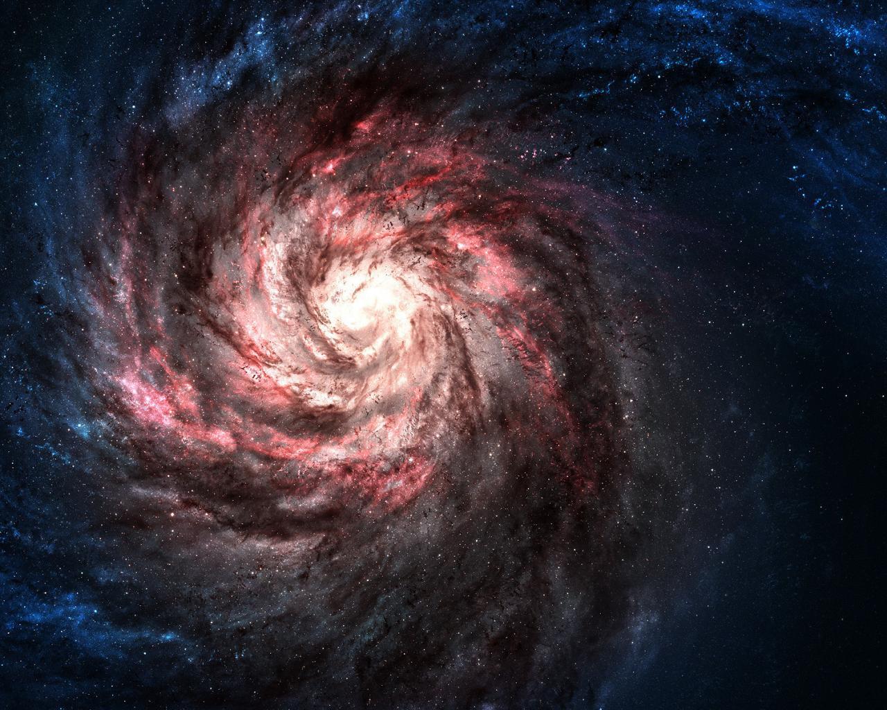 Космос галактика звезды обои для