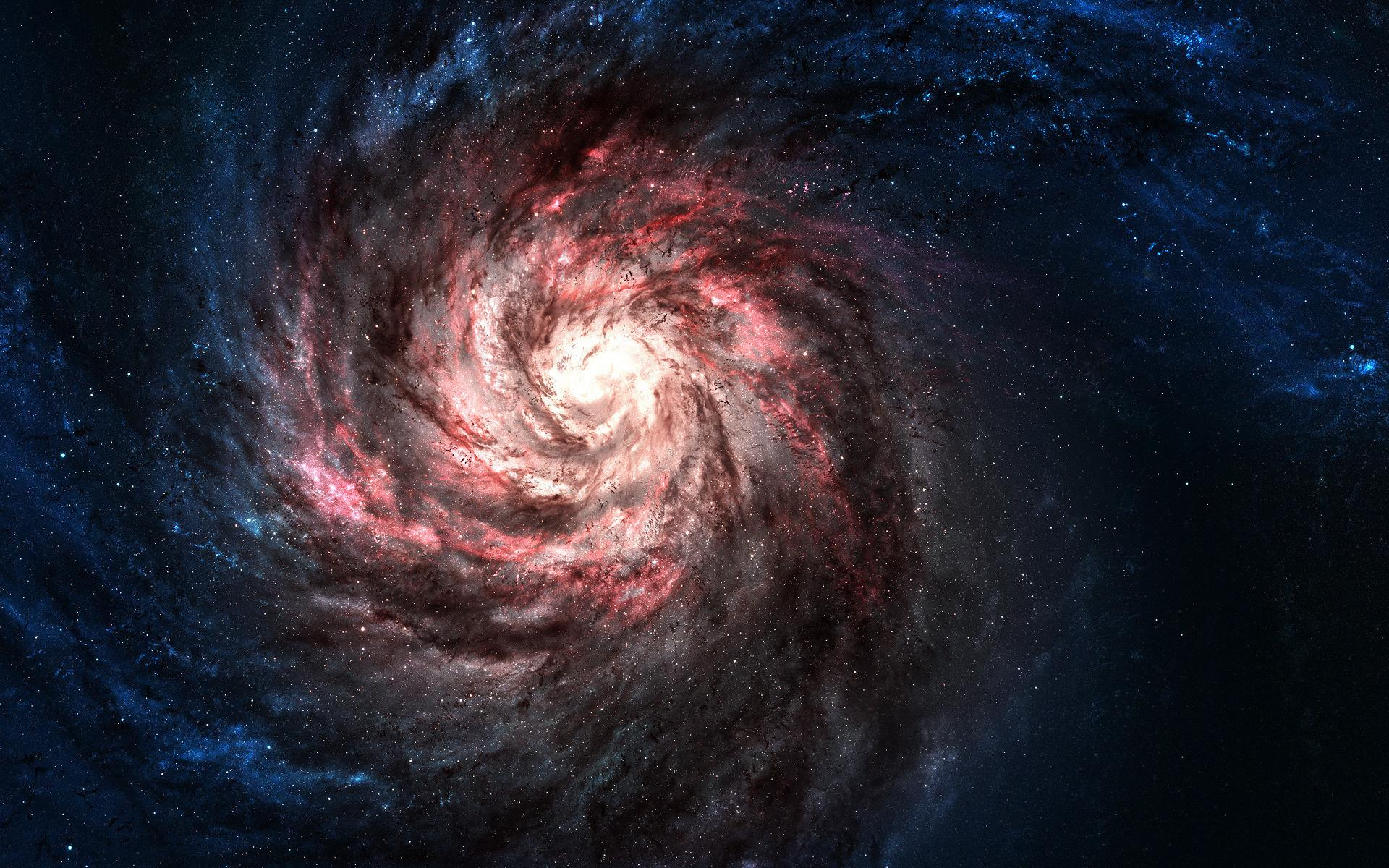 red space galaxy - photo #3