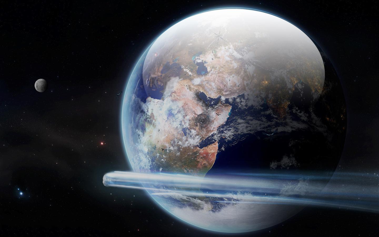 Обои земля, астероиды. Космос foto 9
