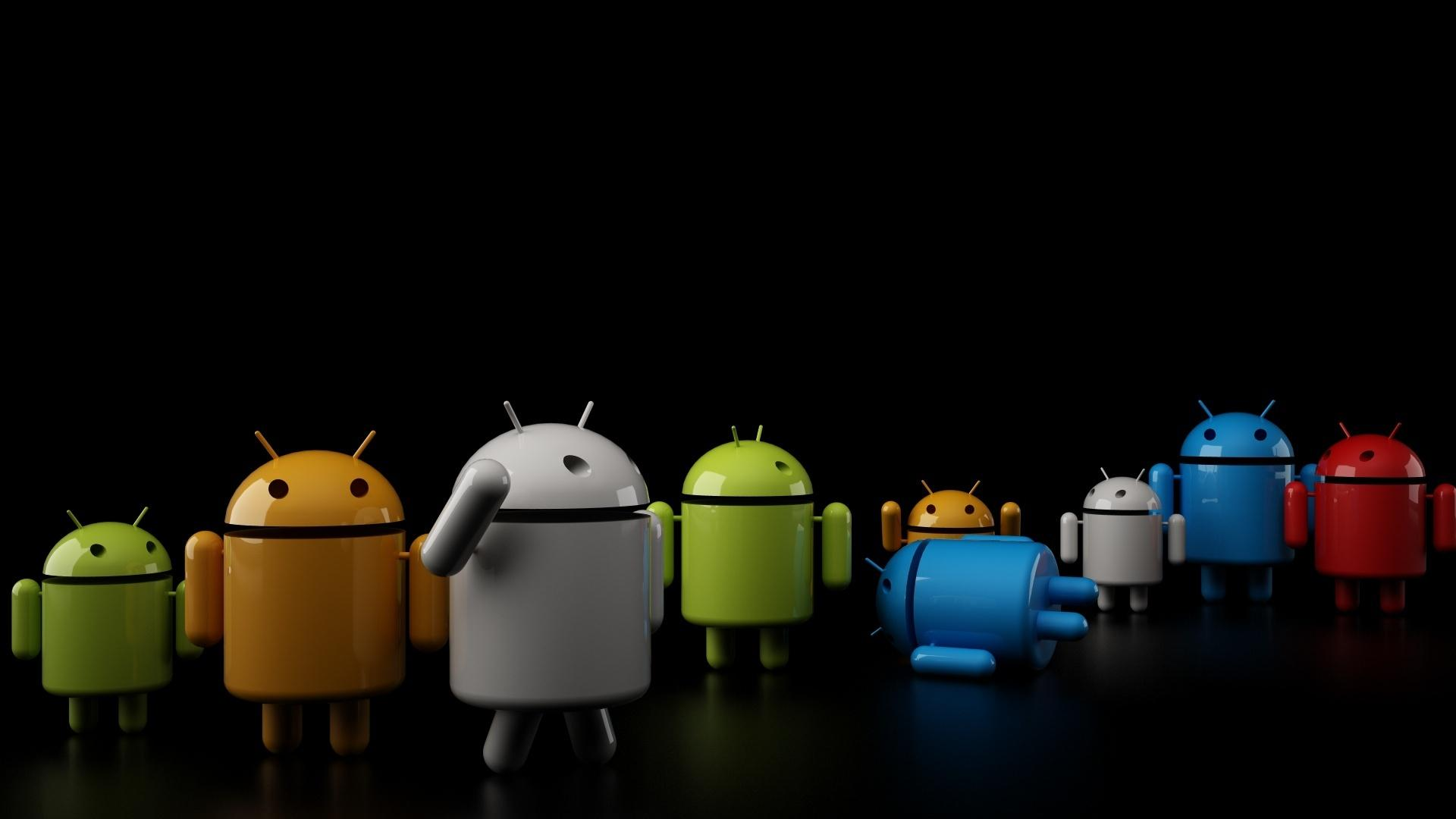 Скачать обои Android, Андроид,