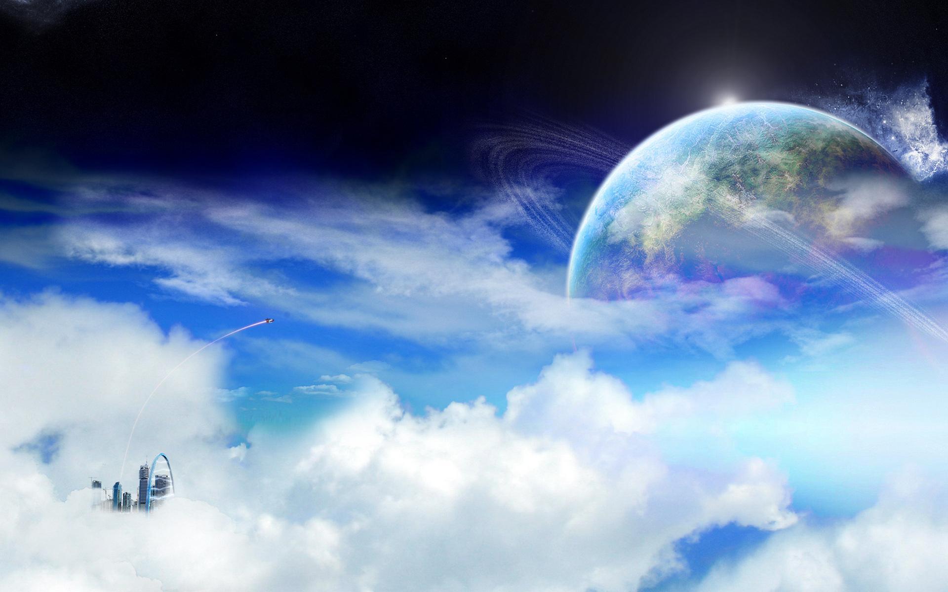 Космос ракета фантастика будущее